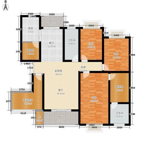 天城湖光山色3室0厅2卫1厨174.00㎡户型图