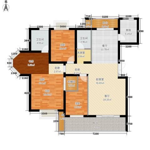 天城湖光山色3室0厅2卫1厨148.00㎡户型图