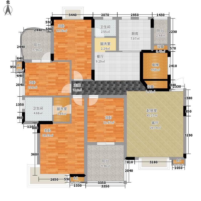 中建桂苑162.94㎡面积16294m户型