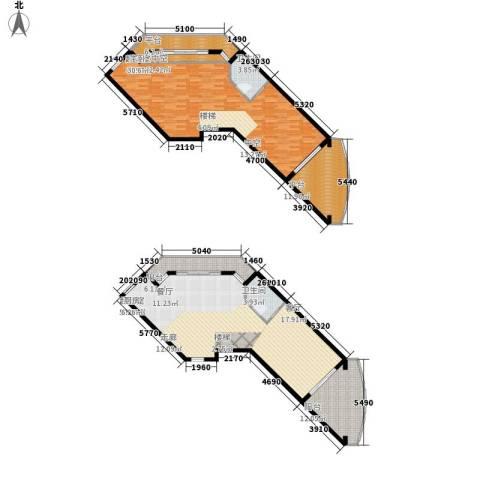 海巢2卫0厨202.00㎡户型图