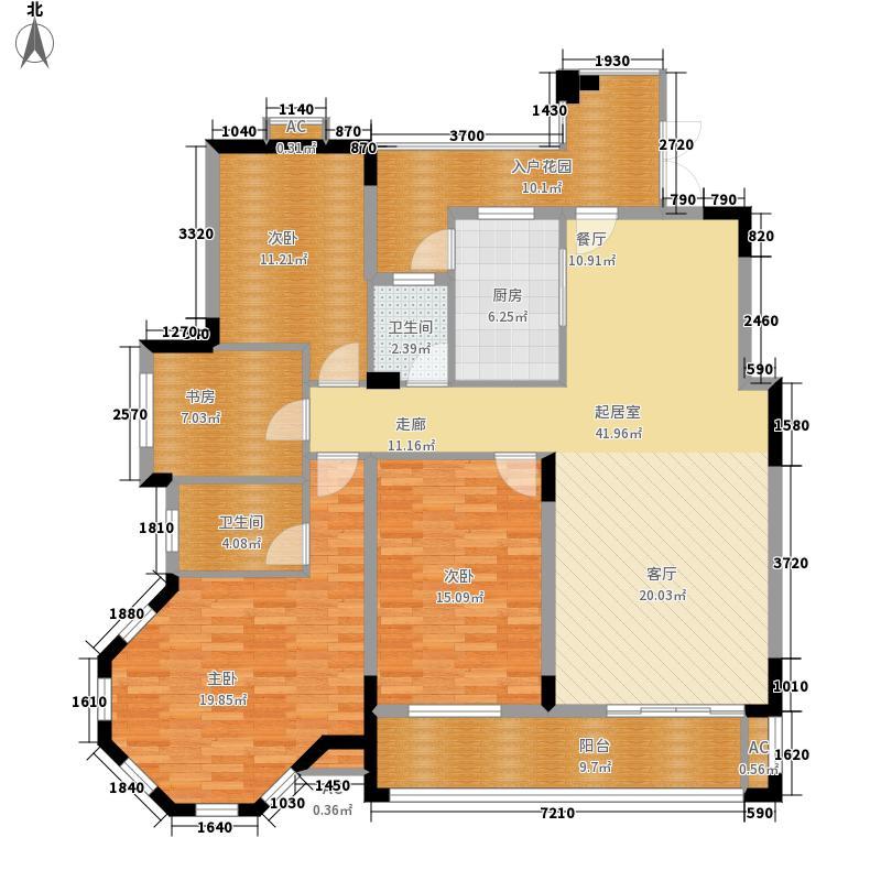 沁园春御院145.00㎡M-b2面积14500m户型