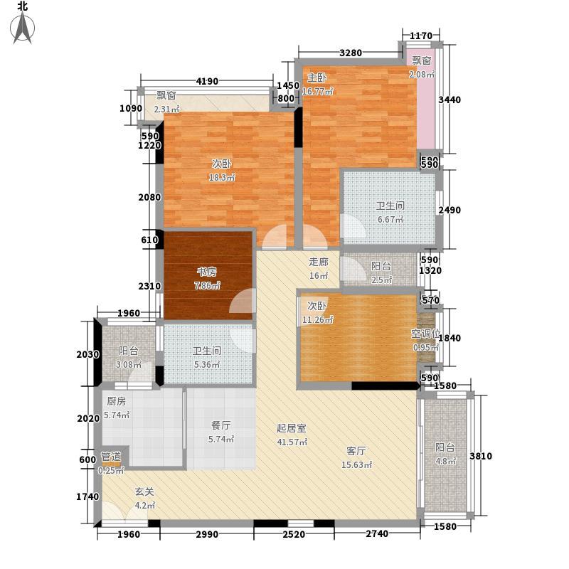 天韵瑚璟花园140.17㎡C9户型4室2厅