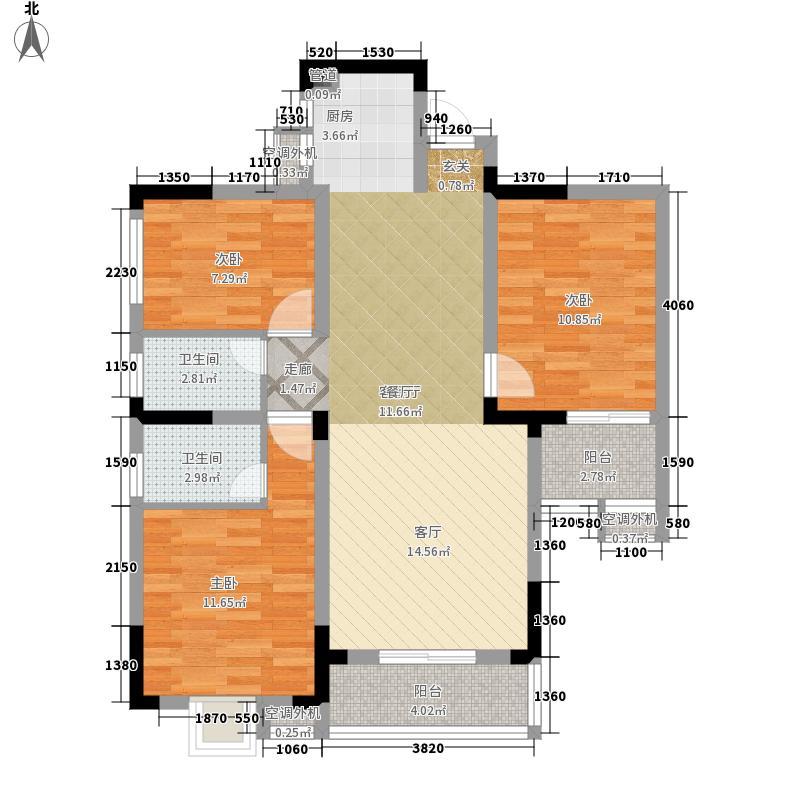 中南大学单位房87.00㎡户面积8700m户型