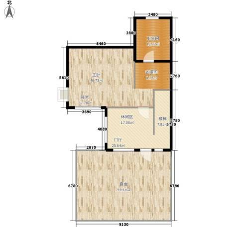 紫藤花苑1室0厅1卫0厨155.00㎡户型图