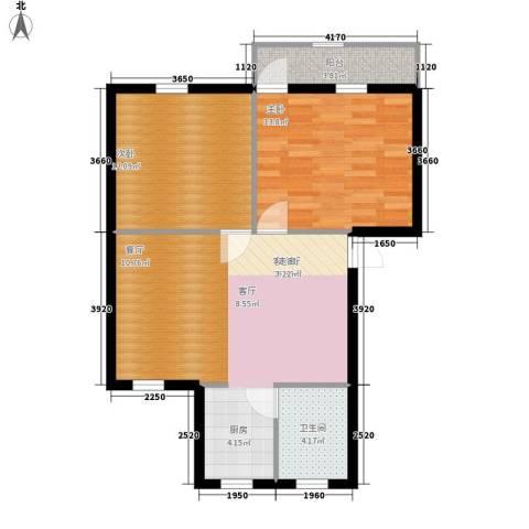 赤岗小区2室1厅1卫0厨68.00㎡户型图