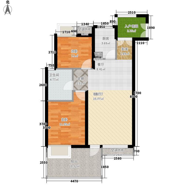 华尔街国际公馆华尔街国际公馆户型图(4/8张)户型10室