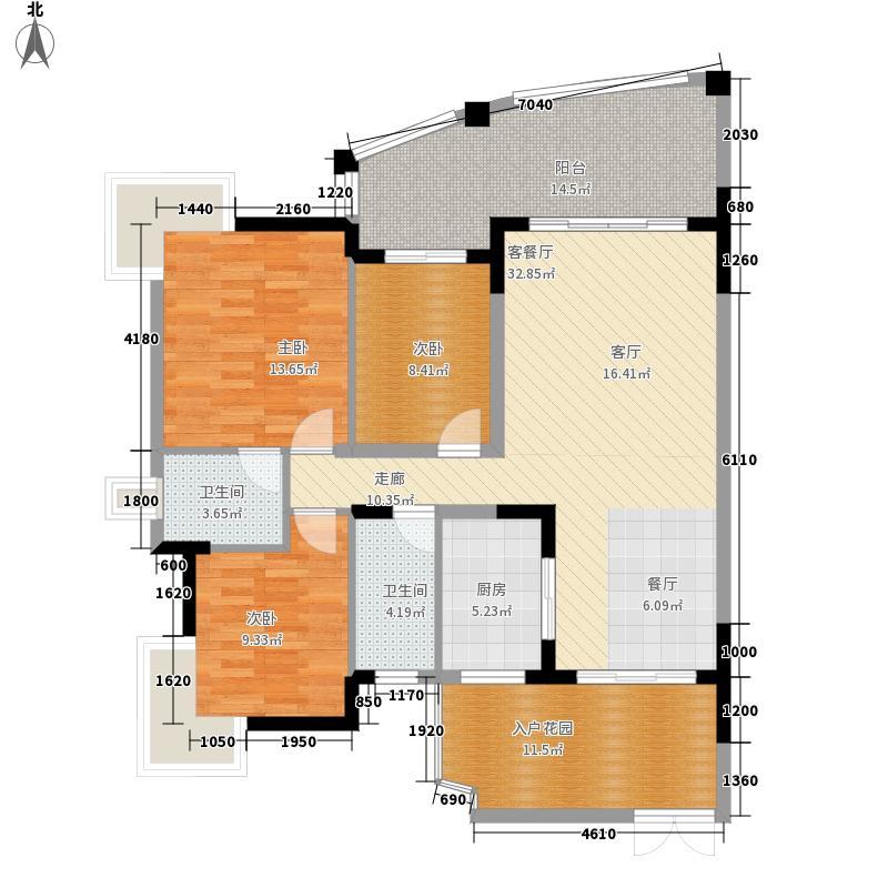 幸福家园幸福家园户型图(6/11张)户型10室