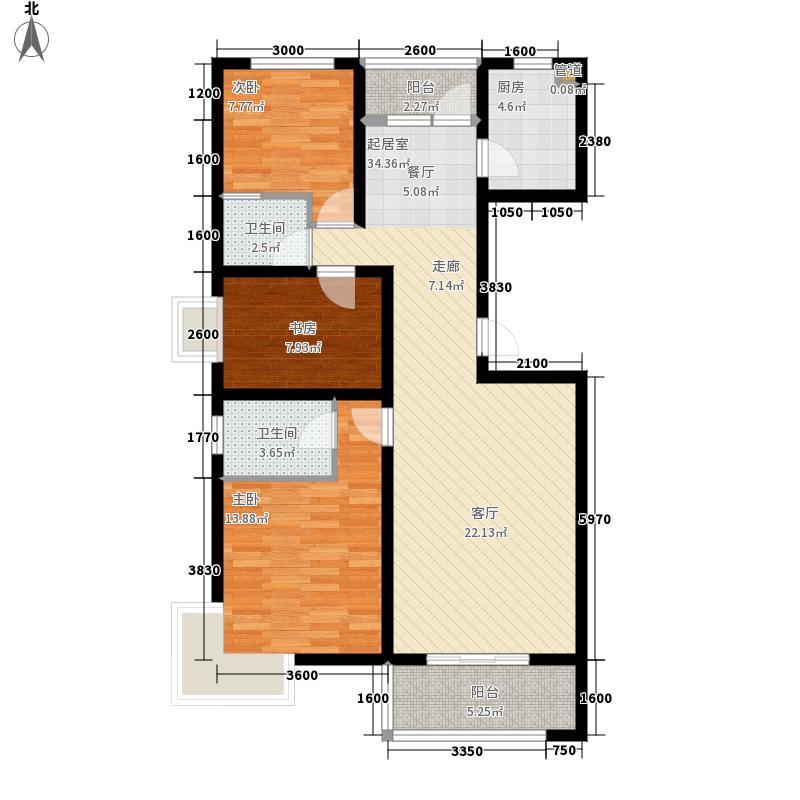 新大院3、5#楼标准层A2户型