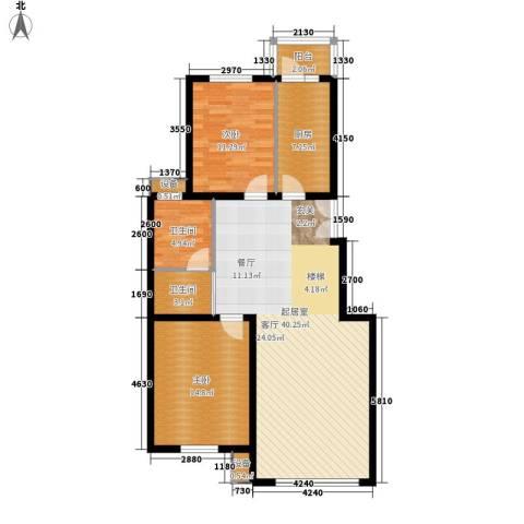 西点公园里2室0厅2卫1厨120.00㎡户型图