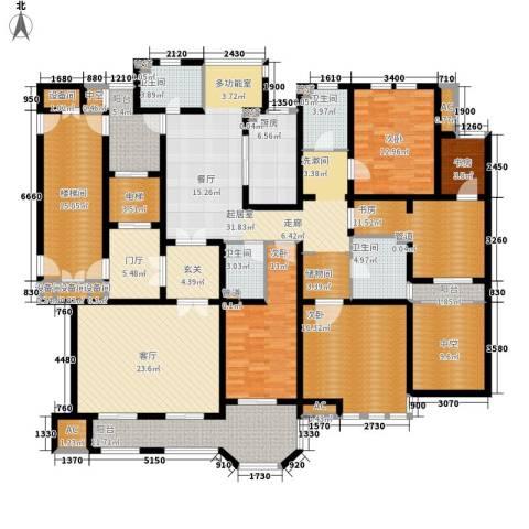 远见5室1厅4卫1厨233.00㎡户型图