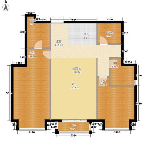 丽都壹号2室0厅2卫1厨120.00㎡户型图