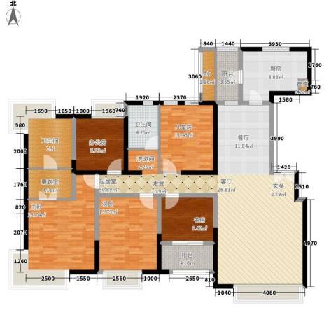 中海瀛台4室0厅2卫1厨168.00㎡户型图