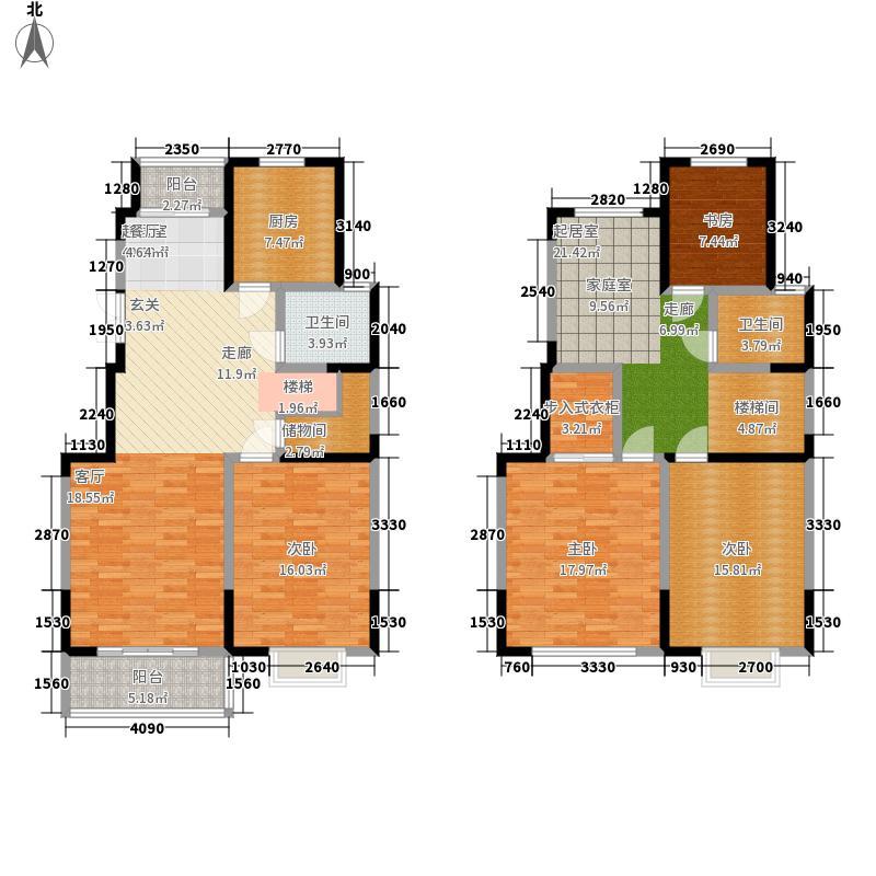 颐和府邸171.73㎡H户型4室3厅