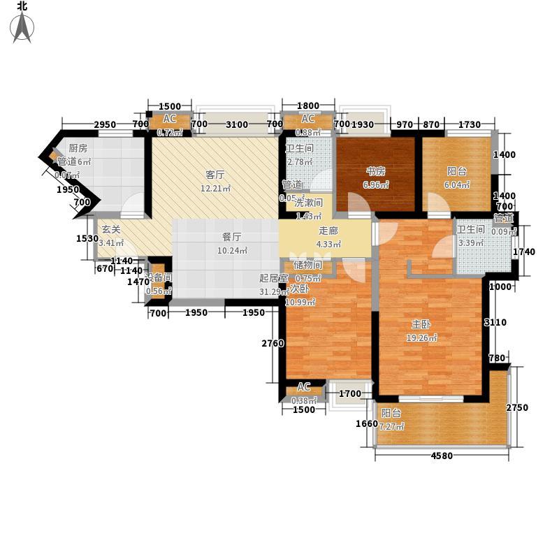 亚东国际公寓户型