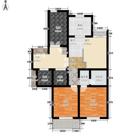 汇景园2室1厅1卫1厨99.00㎡户型图