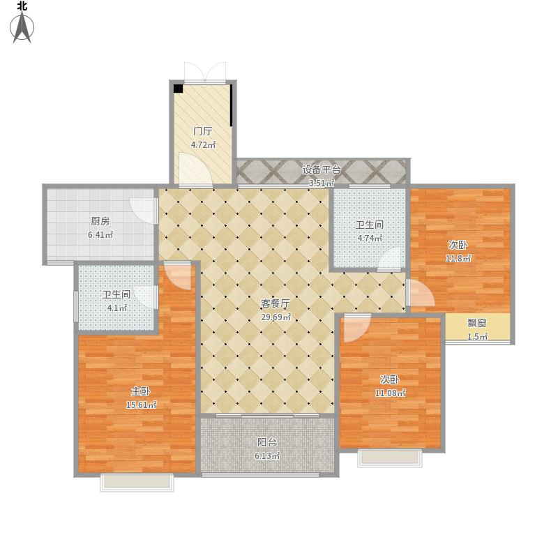 滨海新城房型图