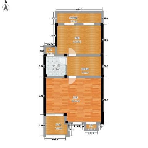 山水英伦庄园2室0厅1卫0厨171.00㎡户型图