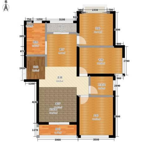 丽景荣城3室0厅1卫1厨115.00㎡户型图