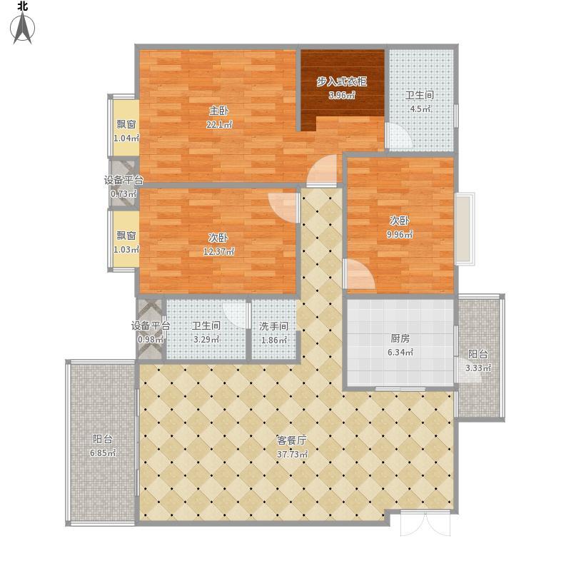尚城雅居房型图