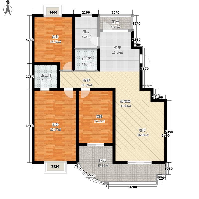 水木白杨147.82㎡2面积14782m户型