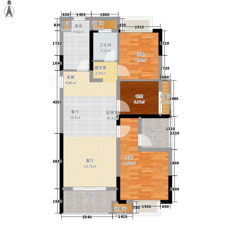 长虹世纪荣廷94.00㎡13#楼A1户型