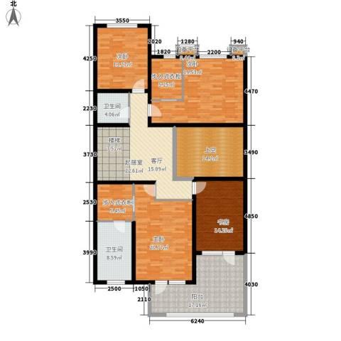 萨尔斯堡4室0厅2卫0厨568.00㎡户型图