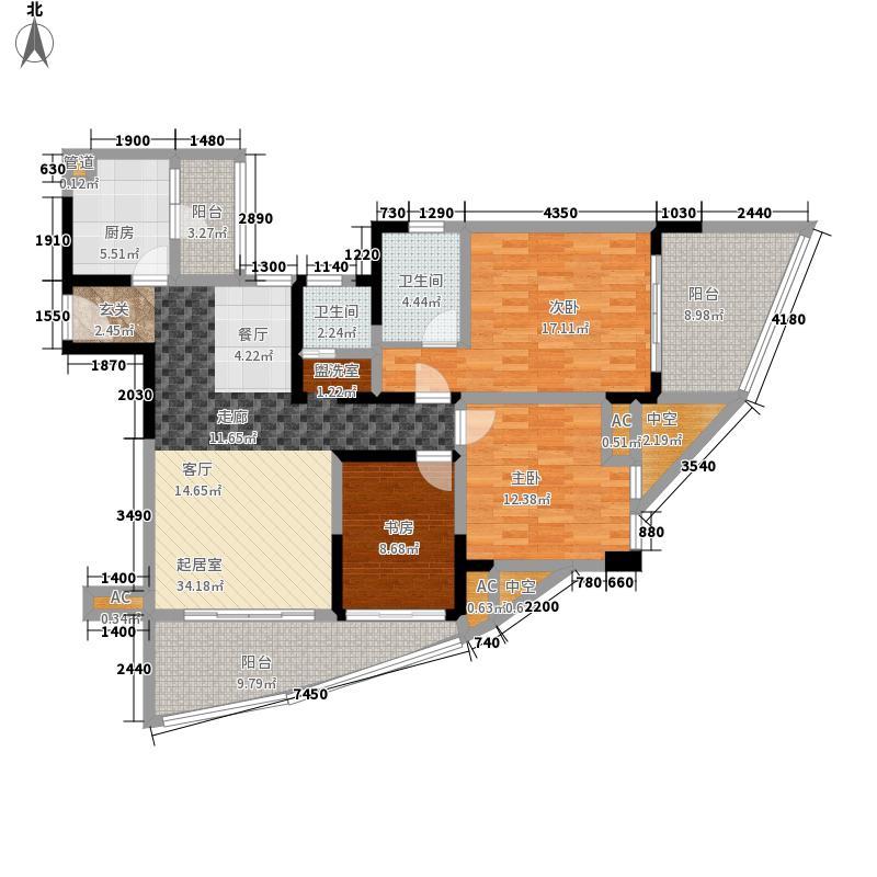 西江月125.94㎡3期4栋、5栋、6栋面积12594m户型