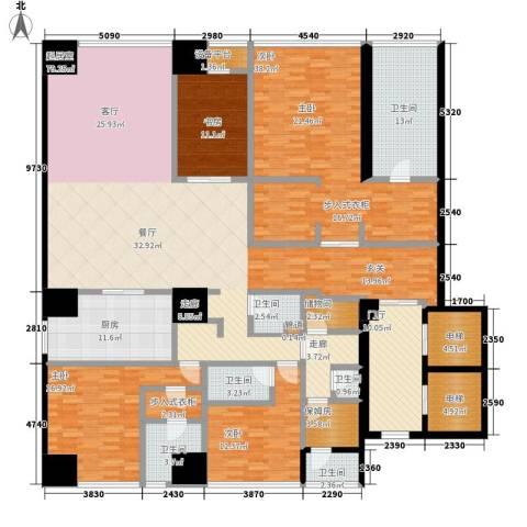 融创玖玺台4室0厅6卫1厨271.00㎡户型图
