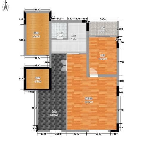 永宏佳园1室0厅1卫1厨118.00㎡户型图