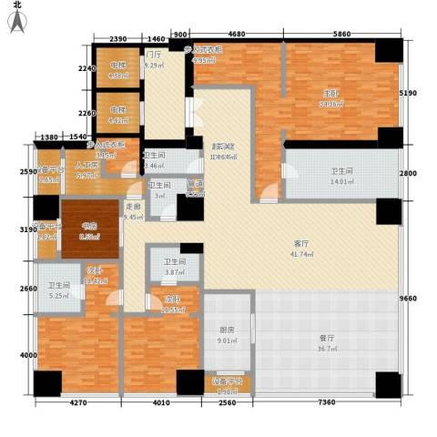 融创玖玺台4室0厅5卫1厨320.00㎡户型图