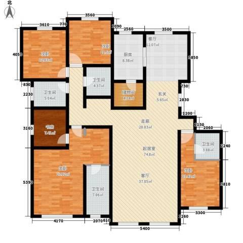萨尔斯堡5室0厅4卫1厨264.00㎡户型图