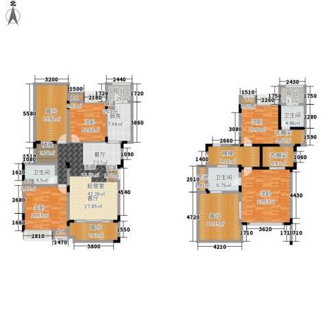 美的林城时代4室0厅3卫1厨200.94㎡户型图