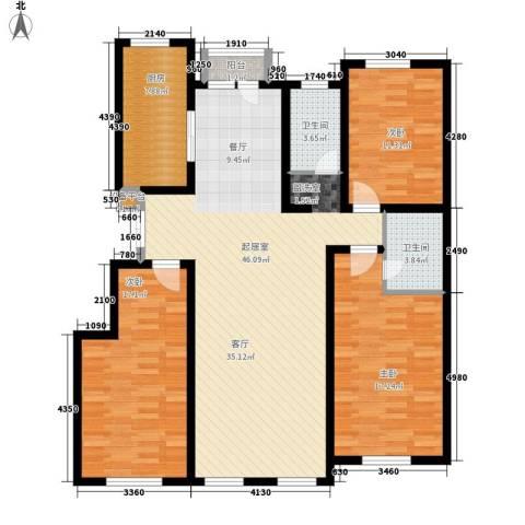萨尔斯堡3室0厅2卫1厨158.00㎡户型图