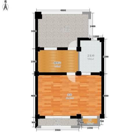 山水英伦庄园1室0厅1卫0厨239.00㎡户型图