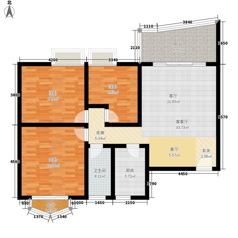 世纪佳园112.00㎡已售完1面积11200m户型