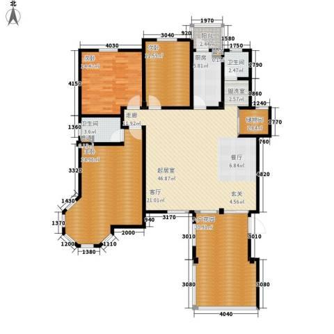 洪城比华利3室0厅2卫1厨189.00㎡户型图