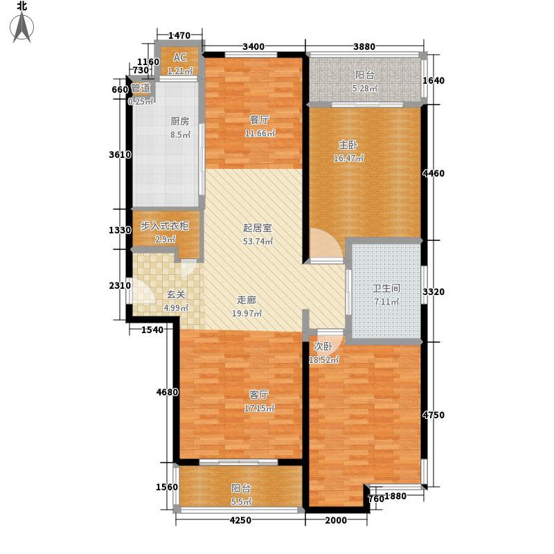 黄浦新苑132.68㎡二期1幢2号0面积13268m户型