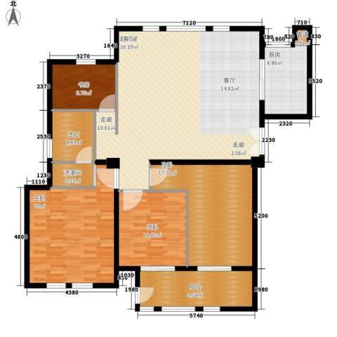 君悦国际花园4室0厅0卫1厨143.00㎡户型图