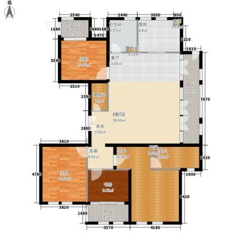 君悦国际花园4室0厅1卫1厨174.00㎡户型图
