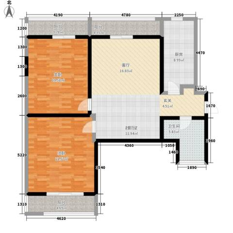 九如御2室0厅1卫1厨119.00㎡户型图