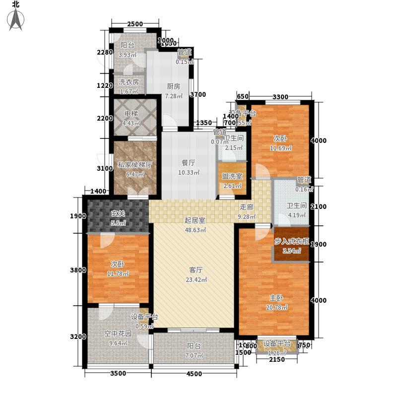 维多利亚时代三期8#楼奇数层-J东-01户型
