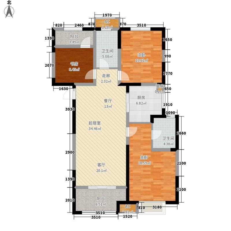 红豆人民路九号119.00㎡1#2#C户型2室2厅