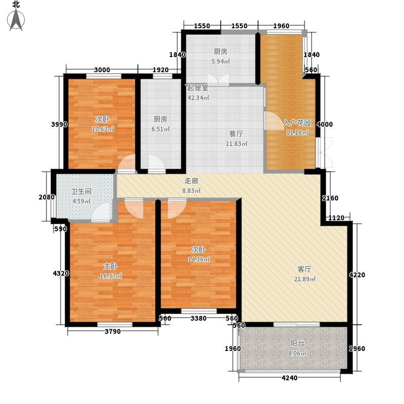 余家漾133.00㎡普通住宅3面积13300m户型