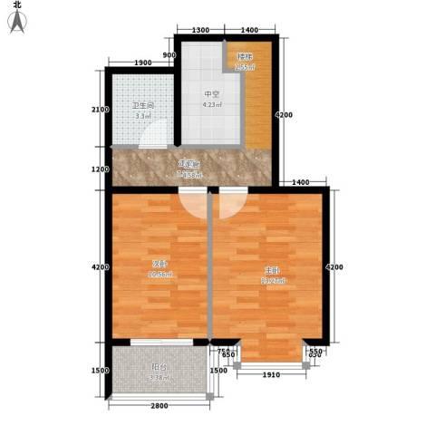 藏龙福地2室0厅1卫0厨113.00㎡户型图