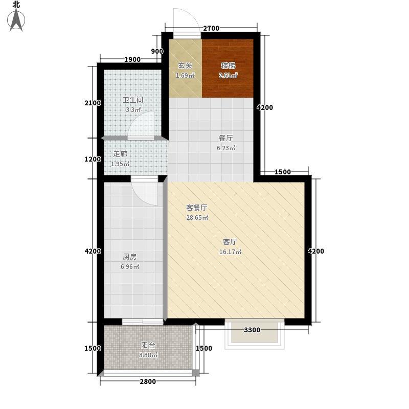 藏龙福地113.21㎡8#G面积11321m户型