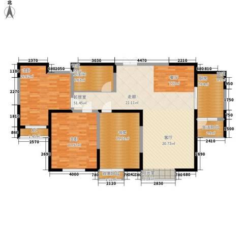 春江花月3室0厅1卫1厨137.00㎡户型图