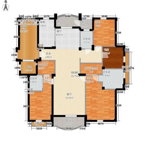 维科龙湾府4室1厅3卫1厨180.00㎡户型图