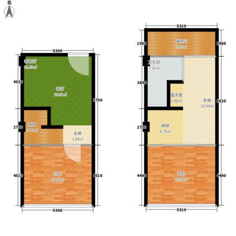 学府1+12室1厅1卫0厨115.78㎡户型图