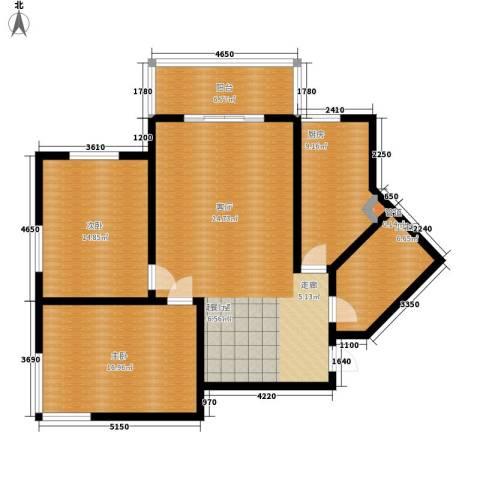 顺美华庭2室0厅1卫1厨103.00㎡户型图