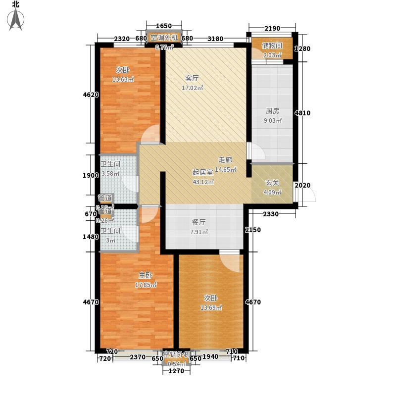 中基礼域143.29㎡售完面积14329m户型